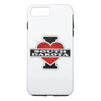 I Heart South Dakota iPhone 8 Plus/7 Plus Case