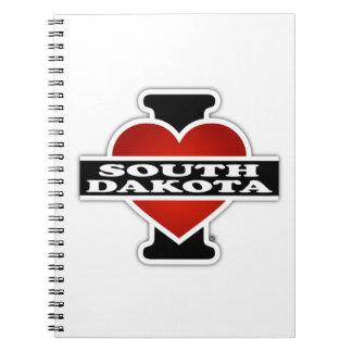 I Heart South Dakota Notebook