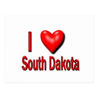 I Heart South Dakota Postcard