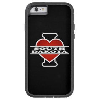I Heart South Dakota Tough Xtreme iPhone 6 Case