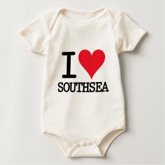 I Heart Southsea Baby Bodysuit