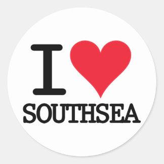 I Heart Southsea Stickers