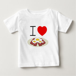 I heart Spam and Eggs infant tee