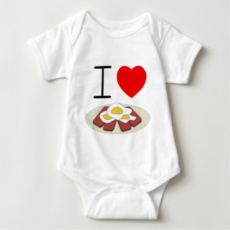 I heart Spam and Eggs toddler tee