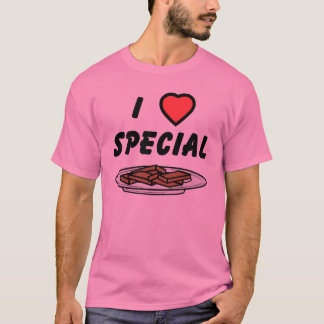 I Heart Special Brownies T-Shirt