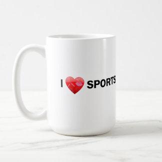 I Heart Sports Mug