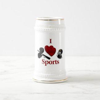 I Heart Sports Coffee Mugs