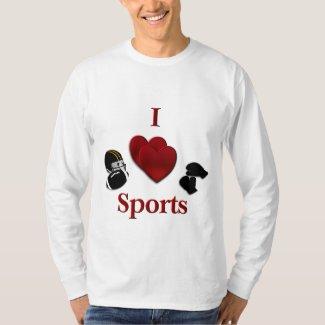 I Heart Sports T-Shirt