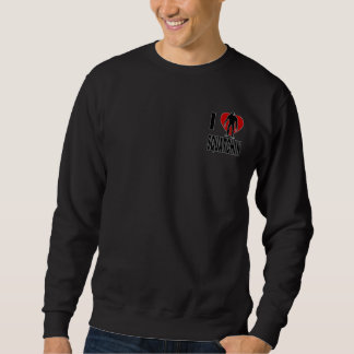 I Heart Squatchin Sweatshirt