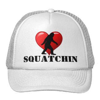 I heart Squatchin Trucker Hat