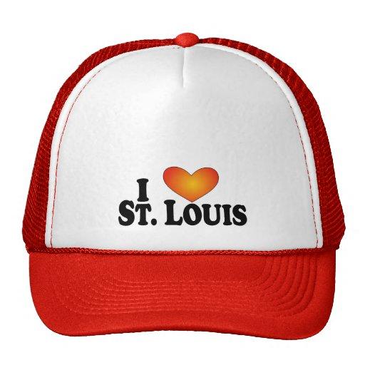 I (heart) St. Louis - Lite Products Trucker Hat