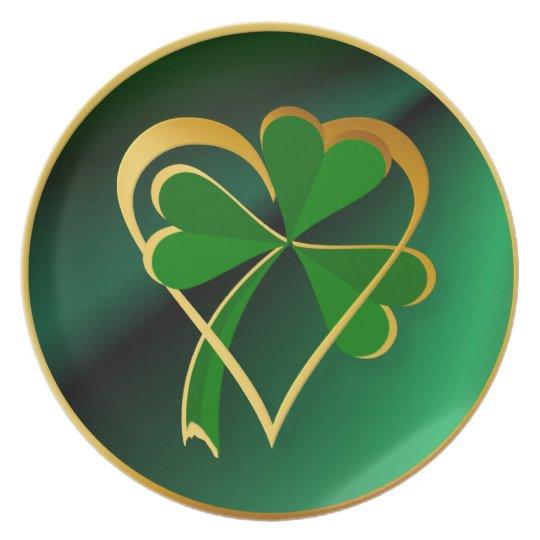 I-Heart-St. Patrick's Plate