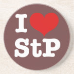 I Heart St. Paul Beverage Coaster