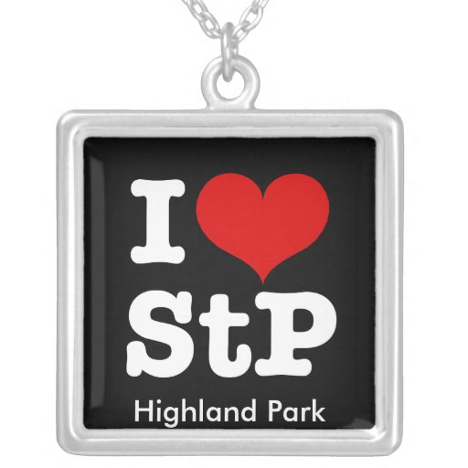 I Heart St. Paul or St. Peter Necklace