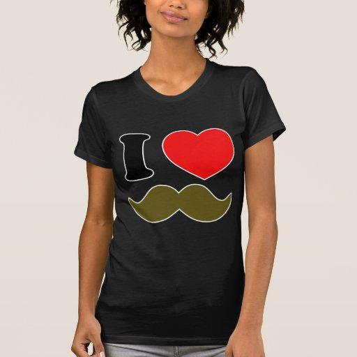 I Heart Stache Shirts