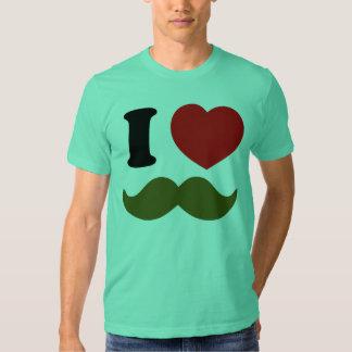 I Heart Stache T Shirt