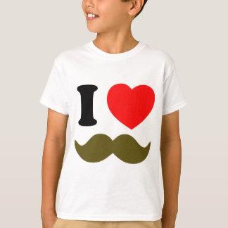 I Heart Stache T-Shirt