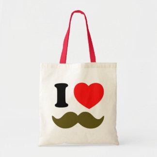 I Heart Stache Tote Bag