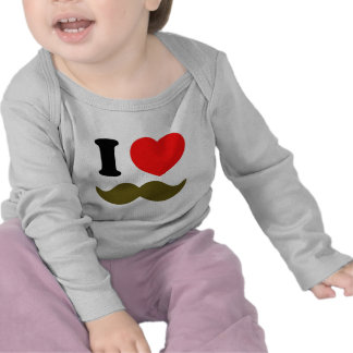 I Heart Stache Tshirts