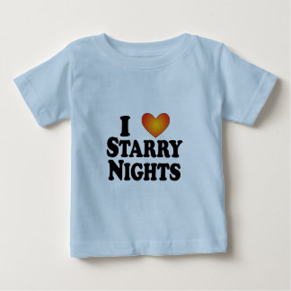 I (heart) Starry Nights - Lite Products Baby T-Shirt
