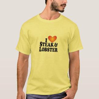 I (heart) Steak & Lobster - Lite Multi-Products T-Shirt