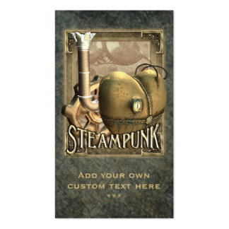 I Heart Steampunk Profile Cards Business Card