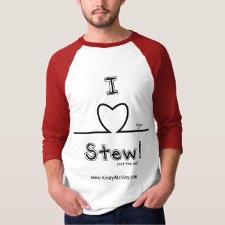 I Heart Stew - 3/4 sleeve T-Shirt