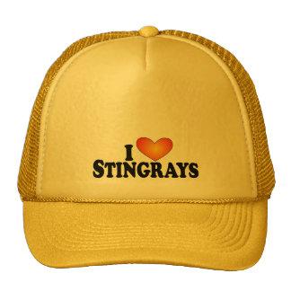 I (heart) Stingrays - Lite Products Mesh Hats