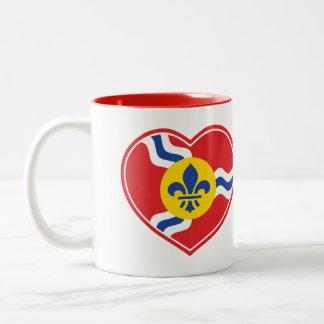 I Heart STL - St Louis Coffee Mug - Saint Louis MO