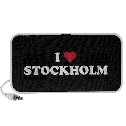 I Heart Stockholm Sweden Travelling Speaker