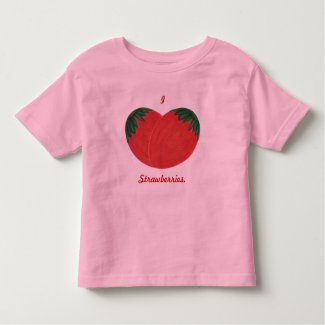 I heart strawberries, Strawberry shirts
