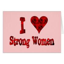 I Heart Strong Women