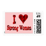 I Heart Strong Women Stamps