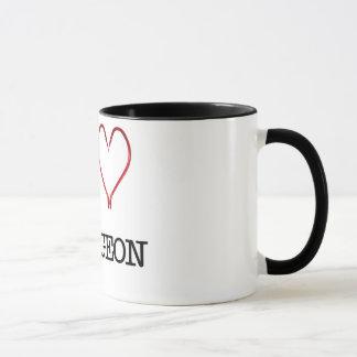 I [Heart] Sturgeon Ringer Mug