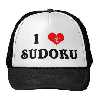 I Heart Sudoku White Hat