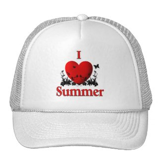 I Heart Summer Hat