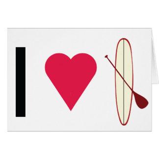 I Heart SUP Card