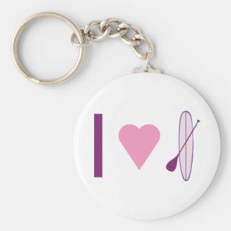 I Heart SUP Keychain