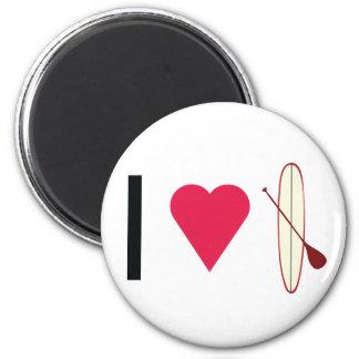 I Heart SUP Magnet