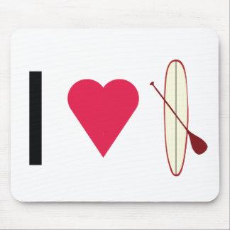I Heart SUP Mouse Pad
