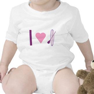 I Heart SUP Baby Creeper