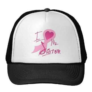 I Heart/Support My Sister Trucker Hat