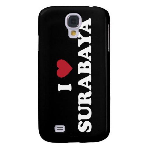 I Heart Surabaya Indonesia Galaxy S4 Cases