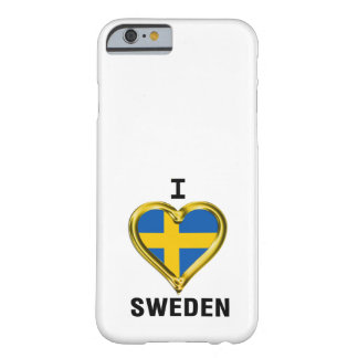 I HEART SWEDEN BARELY THERE iPhone 6 CASE