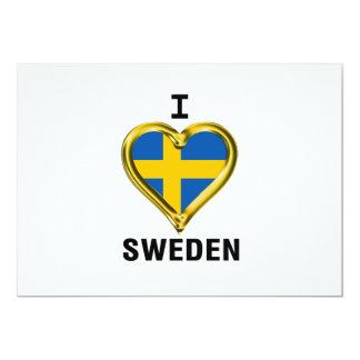 I HEART SWEDEN CARD