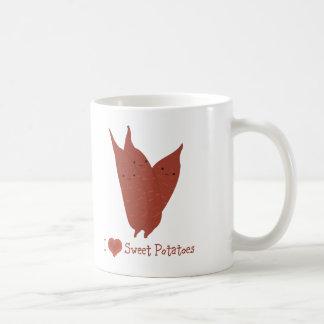 I heart sweet potatoes coffee mug
