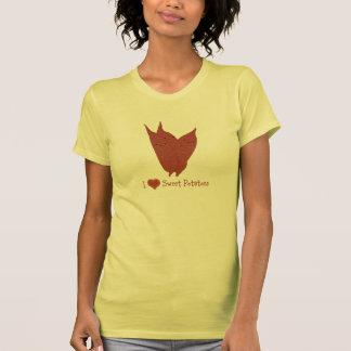 I heart sweet potatoes shirt
