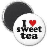 I Heart Sweet Tea Refrigerator Magnet