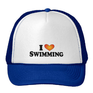 I (heart) Swimming - Lite Multi-Products Mesh Hats