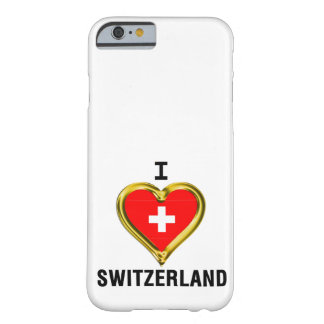 I HEART SWITZERLAND BARELY THERE iPhone 6 CASE